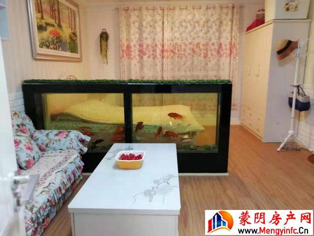 四季春天 1室1厅 53平米 简单装修 1200元/月